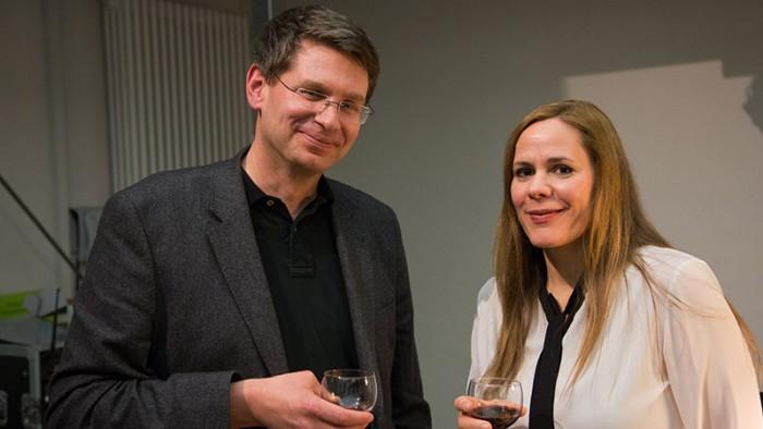 Monique Schwitter und Arne Zerbst