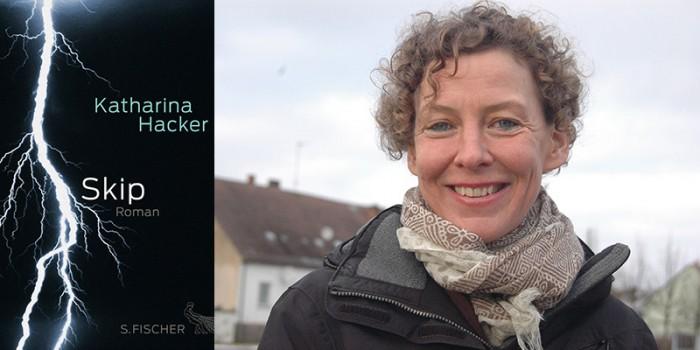 "Autorenlesung – Katharina Hacker ""Skip""."