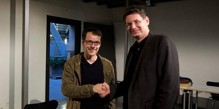 Jan Boettcher und Dr. Arne Zerbst