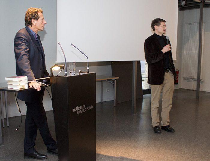 "Julian Nida-Rümelin ""Kunst und Kommunikation"": Diskusion Dr. Arne Zerbst, Julian Nida-Rümelin"