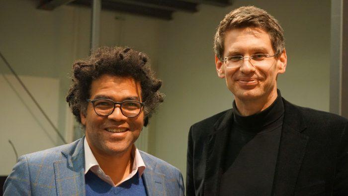 Ijoma Mangold und Arne Zerbst