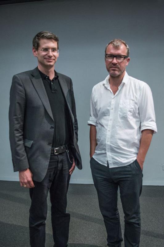 Dr. Arne Zerbst und Andreas Maier