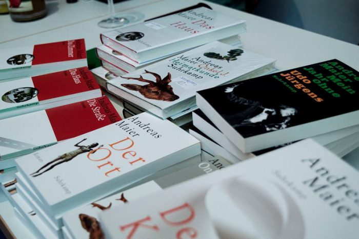Büchertisch Andreas Maier